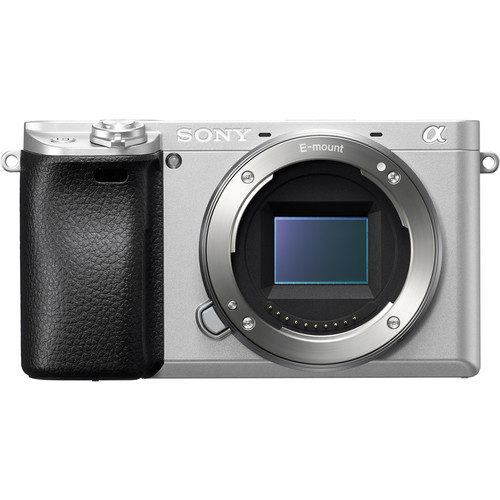 Sony Alpha a6300 Mirrorless Digital Camera (Body Only, Silver)