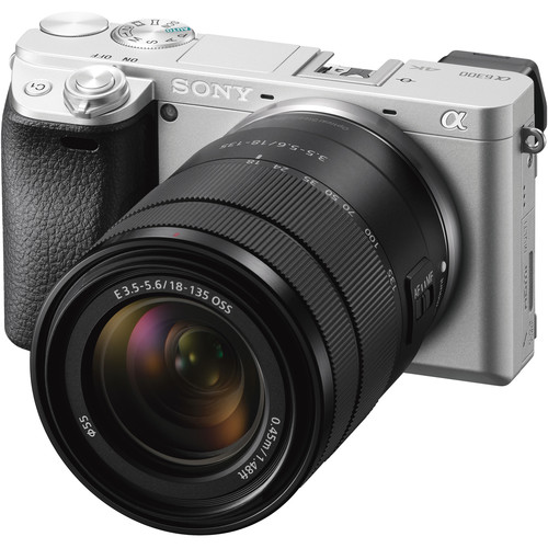 Sony Alpha a6300 Mirrorless Digital Camera with 18-135mm Lens (Silver)