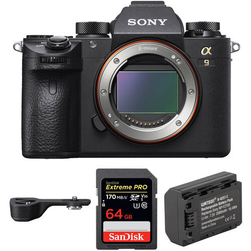Sony Alpha a9 Mirrorless Digital Camera with Accessories Kit