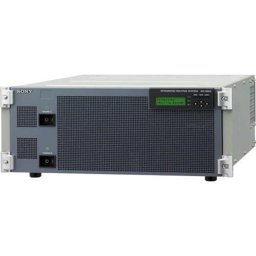 Sony IXS-6600 Integrated Routing System Chassis (4RU)