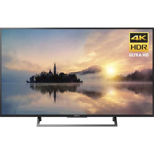 "Sony X720E-Series 49""-Class HDR UHD Smart LED TV"