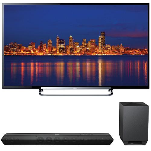 "Sony Sony KDL-60R520A 60"" TV with HTST7 Sound Bar Kit"