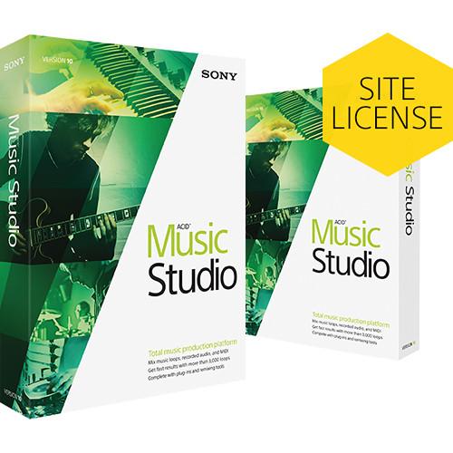 Sony ACID Music Studio 10 Upgrade - Music Production Platform (Retail Site-License, Download)