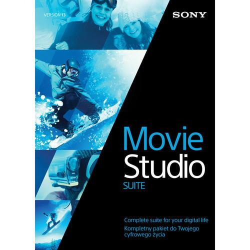 Sony Movie Studio 13 Suite (100-499 License Tier)