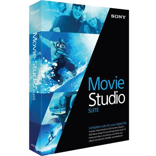 Sony Movie Studio 13 Suite (500+ License Tier)