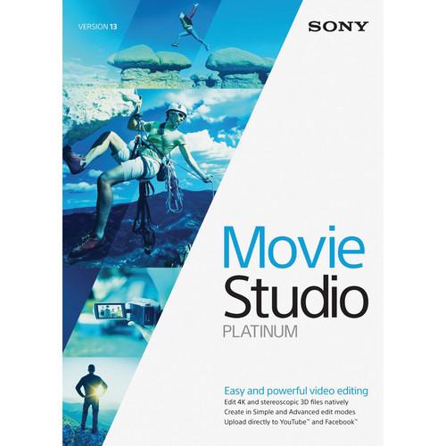 Sony Movie Studio Platinum 13 (500+ License Tier)