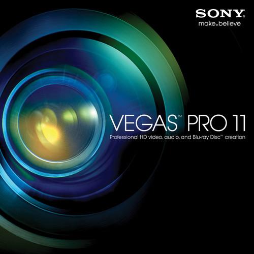 Sony Vegas Pro 11.0 (100-499 License Tier)