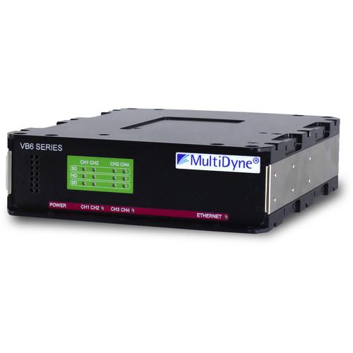 Sony Fiber Transmitter & Receiver Set with Four 3G-SDI BNC Output