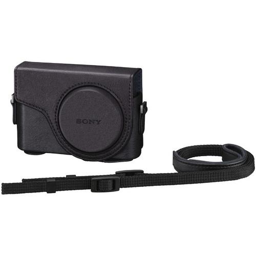 Sony Semi-Hard Carrying Case for Cyber-shot DSC-WX300 Digital Camera (Black)