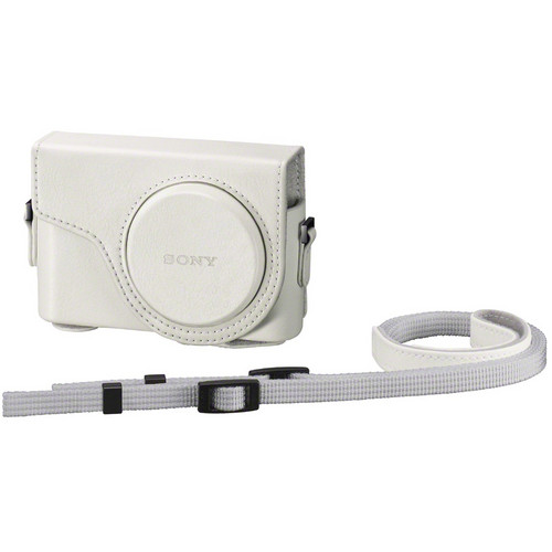 Sony Semi-Hard Carrying Case for Cyber-shot DSC-WX300 Digital Camera (White)