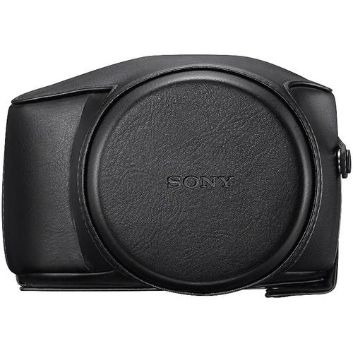 Sony LCJ-RXE Premium Jacket Case for Cyber-shot DSC-RX10 Camera (Black)