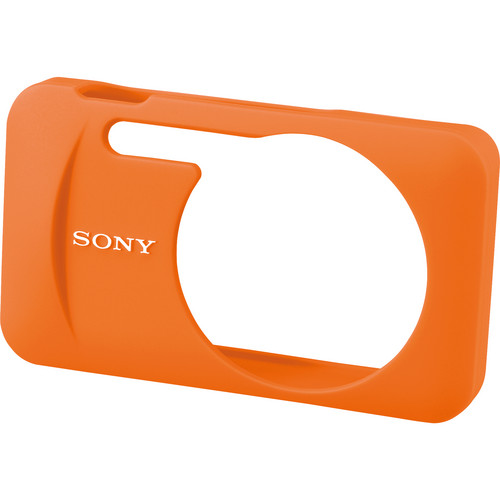 Sony LCJ-WB/D Silicone Jacket Case for the DSC-W730 and WX80 Digital Cameras (Orange)