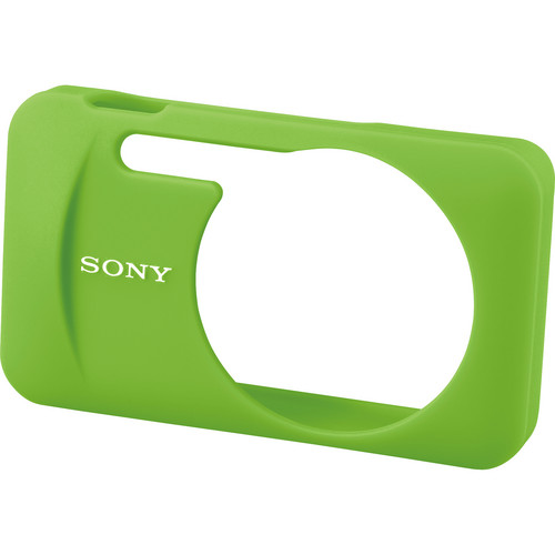 Sony LCJ-WB/G Silicone Jacket Case for the DSC-W730 and WX80 Digital Cameras (Green)