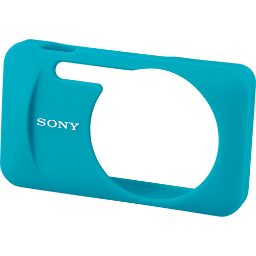 Sony LCJ-WB/L Silicone Jacket Case for the DSC-W730 and WX80 Digital Cameras (Blue)