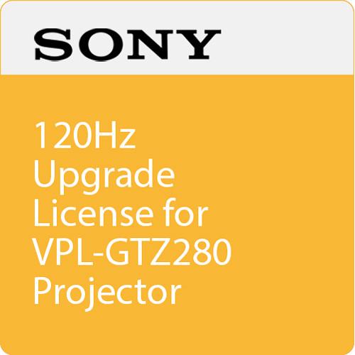 Sony 120Hz Upgrade License for VPL-GTZ280 Projector