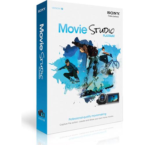 Sony Movie Studio 12 Video Editing Software for Windows (Platinum)