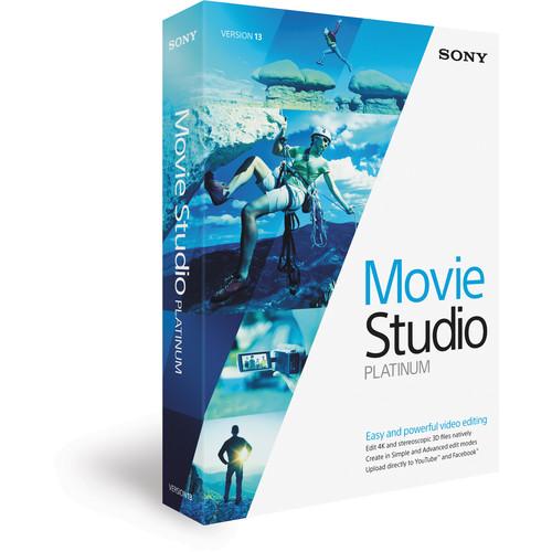 Sony Movie Studio Platinum 13 (Academic, Boxed)