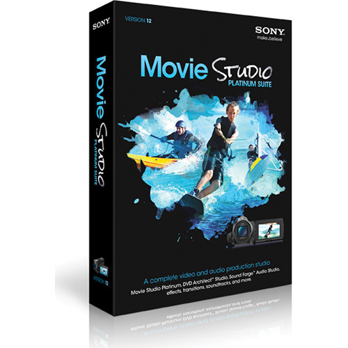 Sony Movie Studio 12 Video Editing Software (Platinum Suite)