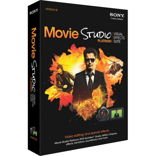 Sony Movie Studio Platinum Visual Effects Suite 2 (Academic, Install Media)