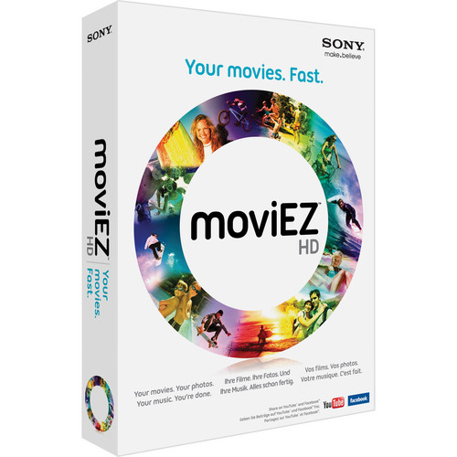 Sony moviEZ HD (Academic, Install Media)