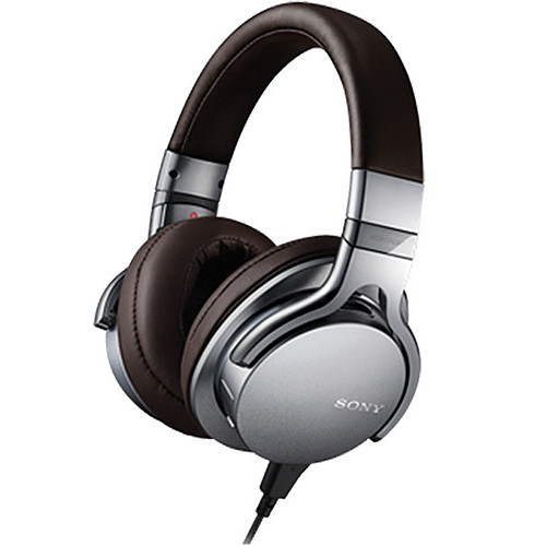 Sony MDR-1ADAC Headphones with Built-In DAC (Silver)