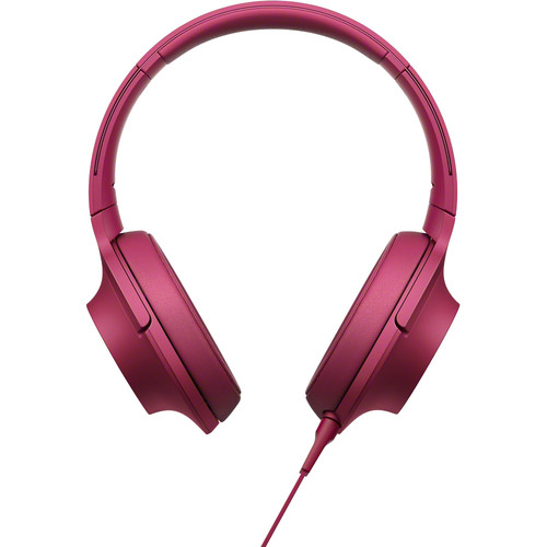 Sony h.ear on High-Resolution Audio Headphones (Bordeaux Pink)