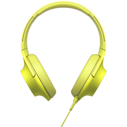 Sony h.ear on High-Resolution Audio Headphones (Lime Yellow)