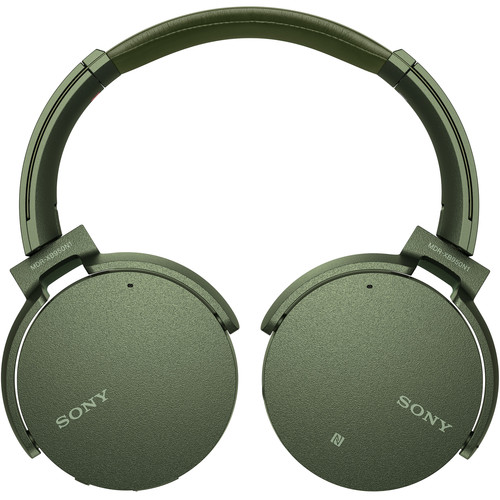 Sony XB950N1 EXTRA BASS Noise-Canceling Bluetooth Headphones (Green)