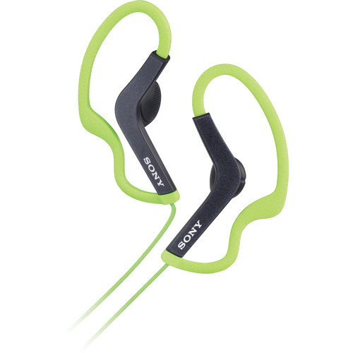 Sony MDR-AS200 Active Sports Headphones (Green)