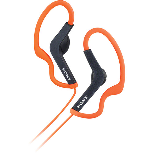 Sony MDR-AS200 Active Sports Headphones (Orange)