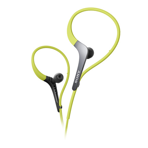 Sony MDR-AS400EX Active Series Sport Headphones (Green)