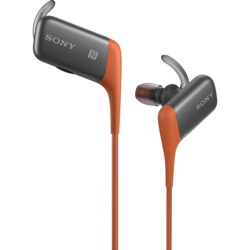Sony MDR-AS600BT Bluetooth Sports Headset (Orange)