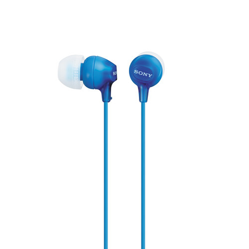 Sony MDR-EX15LP In-Ear Headphones (Blue)
