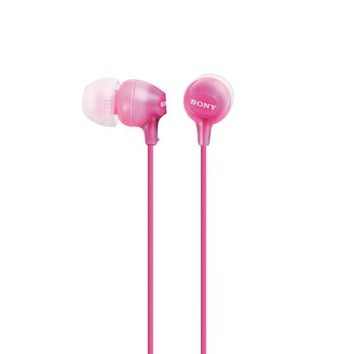 Sony MDR-EX15LP In-Ear Headphones (Pink)