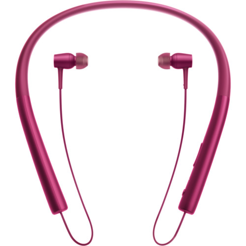 Sony h.ear in Wireless Bluetooth In-Ear Headphones (Bordeaux Pink)