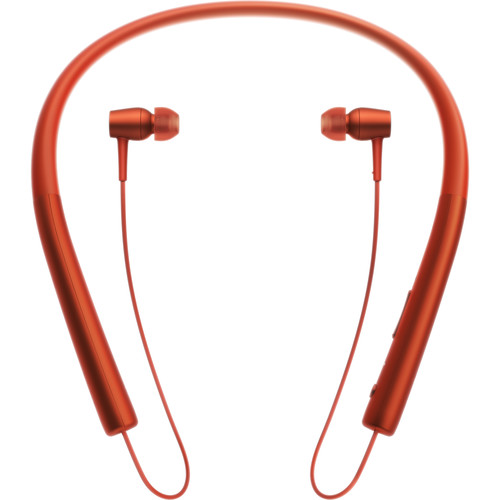 Sony h.ear in Wireless Bluetooth In-Ear Headphones (Cinnabar Red)