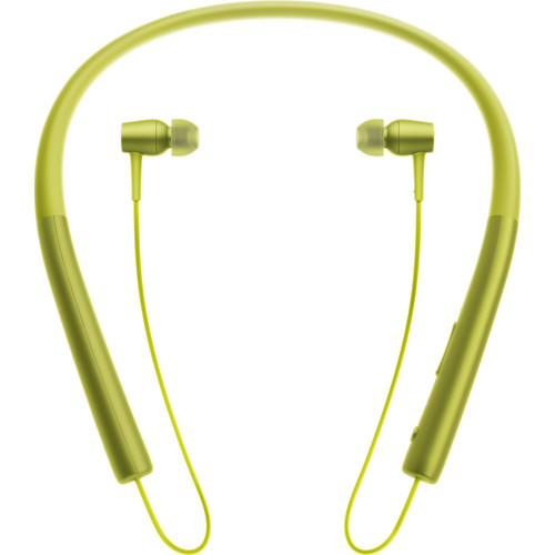 Sony h.ear in Wireless Bluetooth In-Ear Headphones (Lime Yellow)