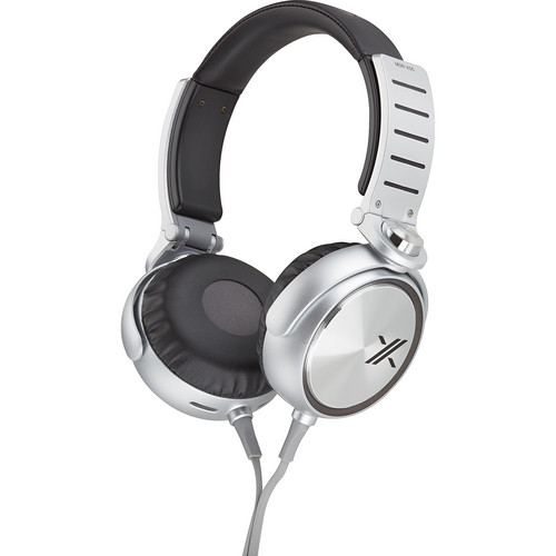 Sony X On-Ear Headphones (Black and Silver)
