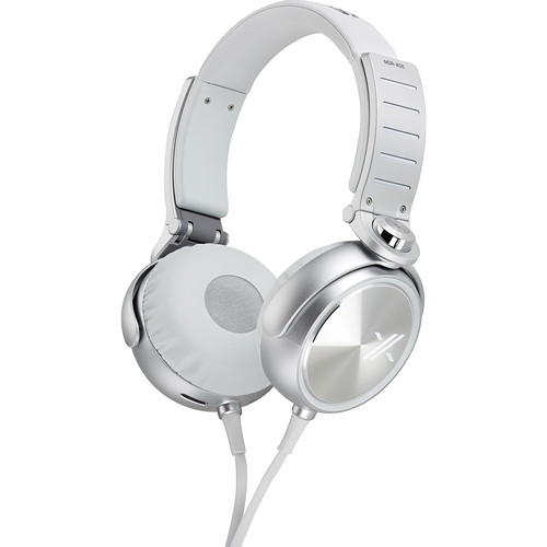 Sony X On-Ear Headphones (White and Silver)