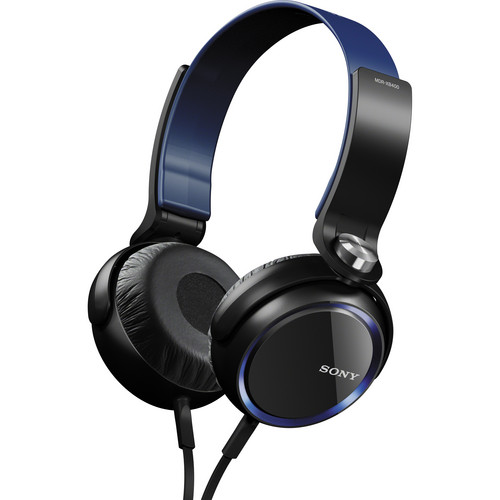 Sony XB Series Extra Bass Headphones (Blue)