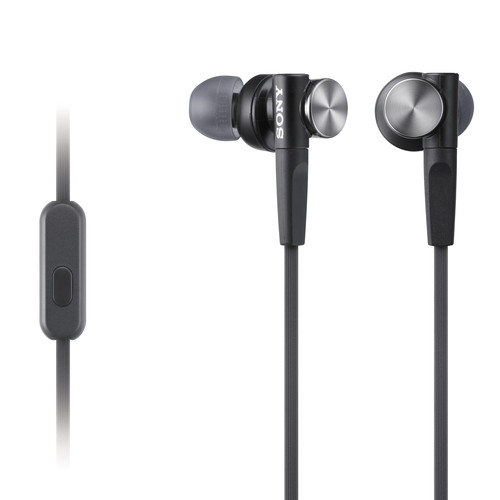 Sony MDR-XB50AP Extra Bass Earbud Headset (Black)