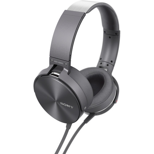 Sony MDR-XB950AP Extra Bass Headphones (Gray)