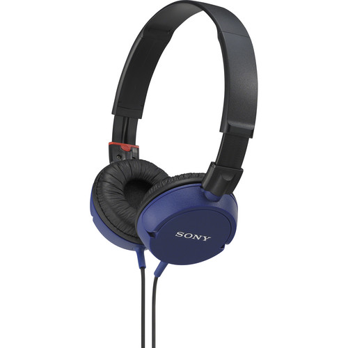 Sony MDR-ZX100 Stereo Headphones (Blue)