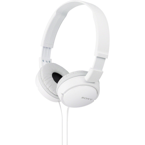 Sony MDR-ZX110 Stereo Headphones (White)