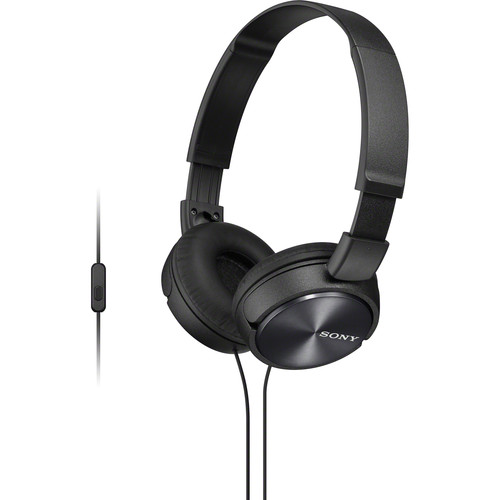 Sony MDR-ZX310AP ZX Series Stereo Headset (Black)