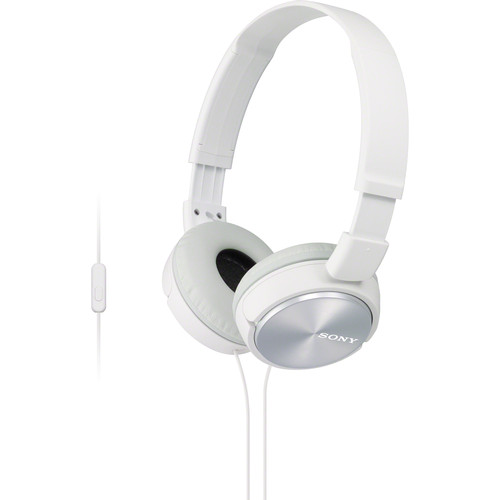 Sony MDR-ZX310AP ZX Series Stereo Headset (White)