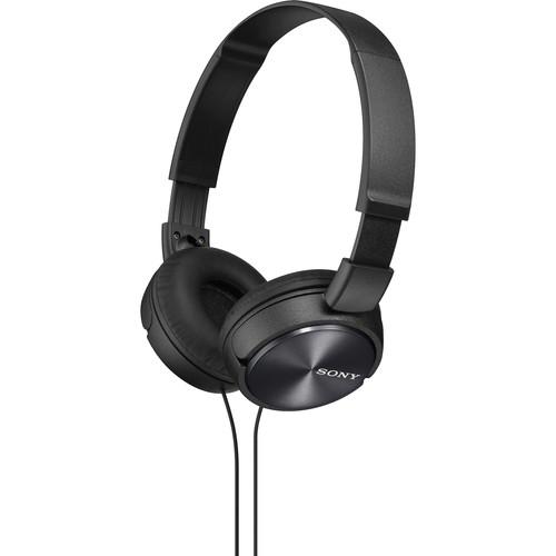 Sony MDR-ZX310 On-Ear Headphones (Black)
