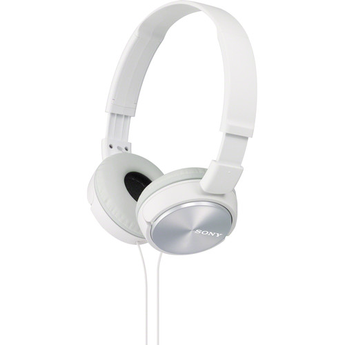 Sony MDR-ZX310 On-Ear Headphones (White)