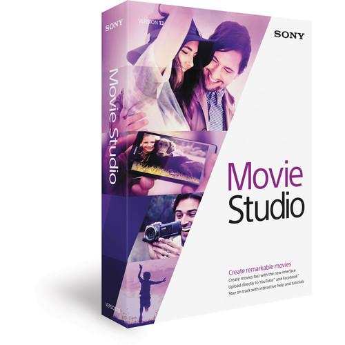 MAGIX Entertainment Movie Studio 13 Video Editing Software (Boxed)