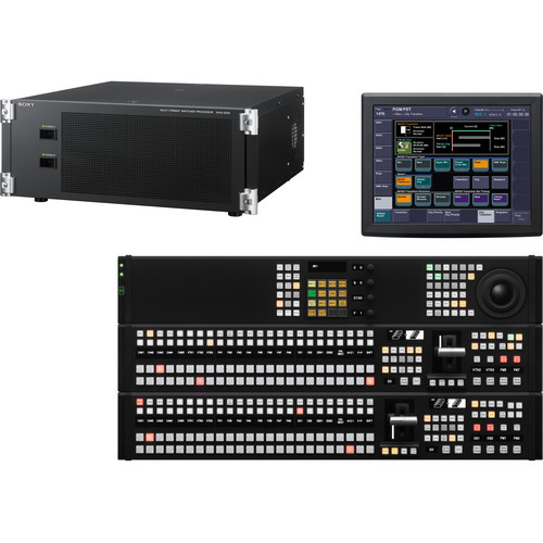 Sony MVS-3016APAC HD/SD Multi-format Switcher with 16-Button Control Panel